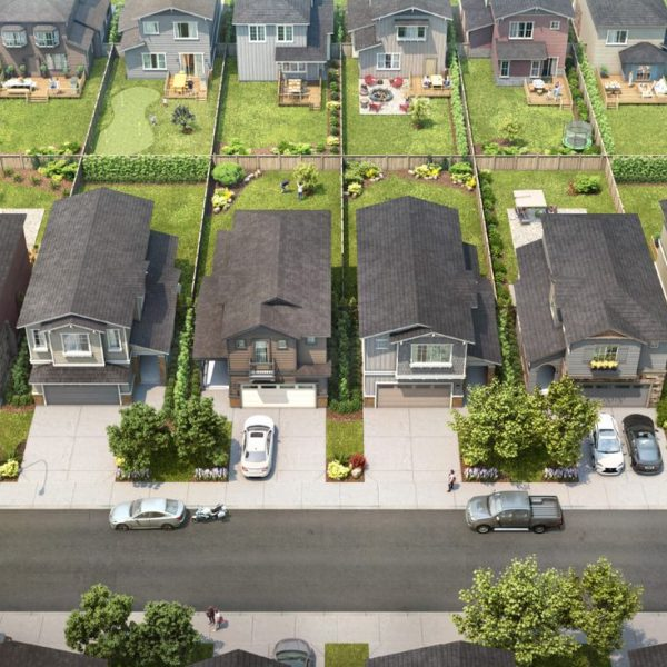 Sirocco is home to traditional large lots